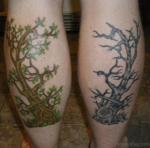 Stunning Tree Tattoo Design