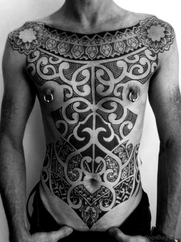 Stunning Tribal Tattoo