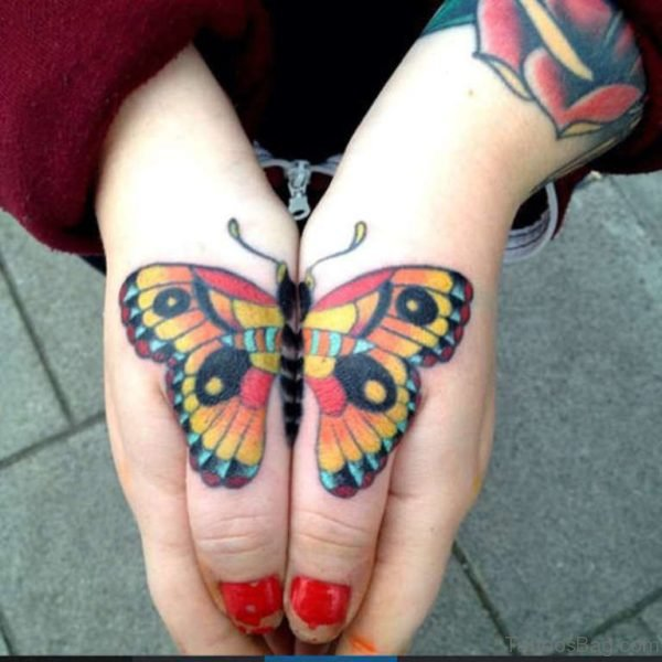 Stunning and Lovely Butterfly Tattoo
