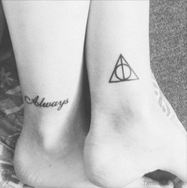 Stylish Ans Cool Ankle Tattoo