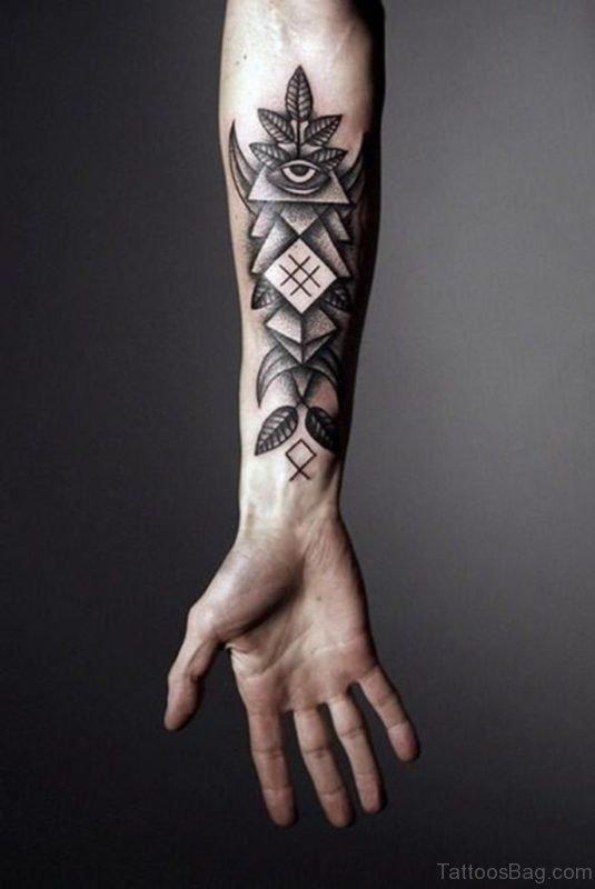 Stylish Arm Tattoo
