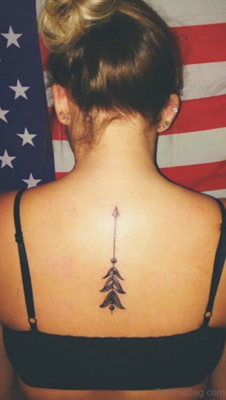Stylish Arrow Tattoo