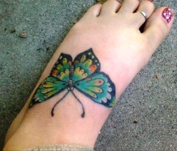 Stylish Butterfly Tattoo 1