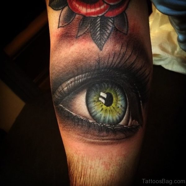 Stylish Eye Tattoo
