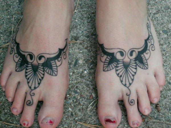 Stylish Foot Tattoo