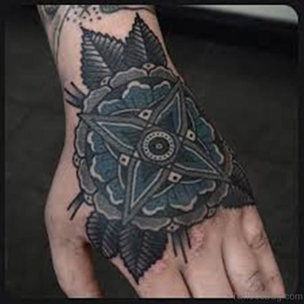 Stylish Mandala Tattoo Design