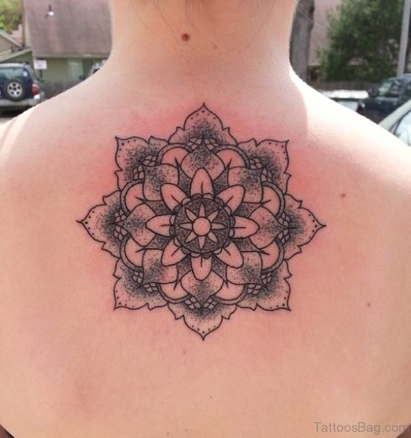 Stylish Mandala Tattoo Design