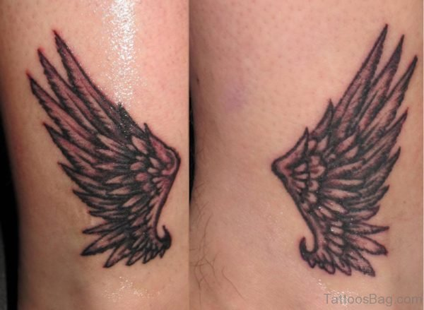 Stylish Wings Tattoo