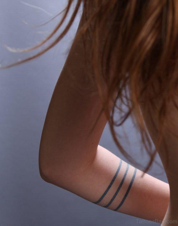 Sweet Band Tattoo Design