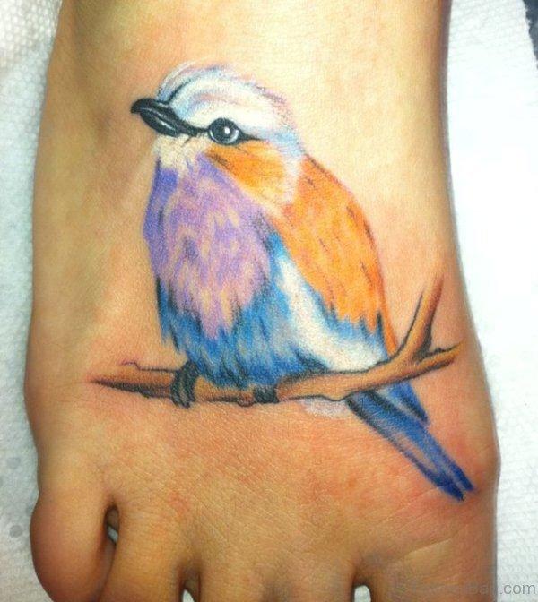 Sweet Bird Tattoo Design