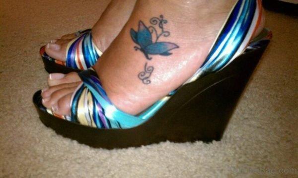Sweet Butterfly Tattoo Design