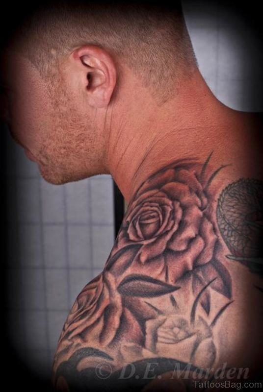 Sweet Flower Designer Tattoo