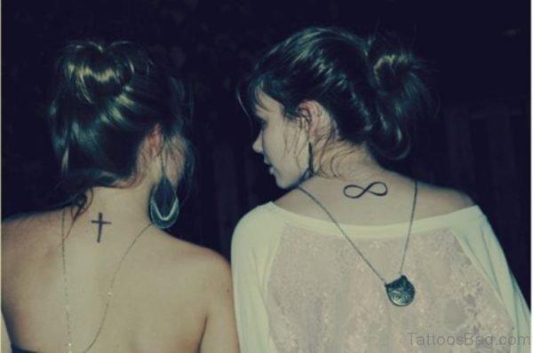 Sweet cross Tattoo