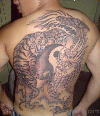 Tiger And Dragon Tattoo