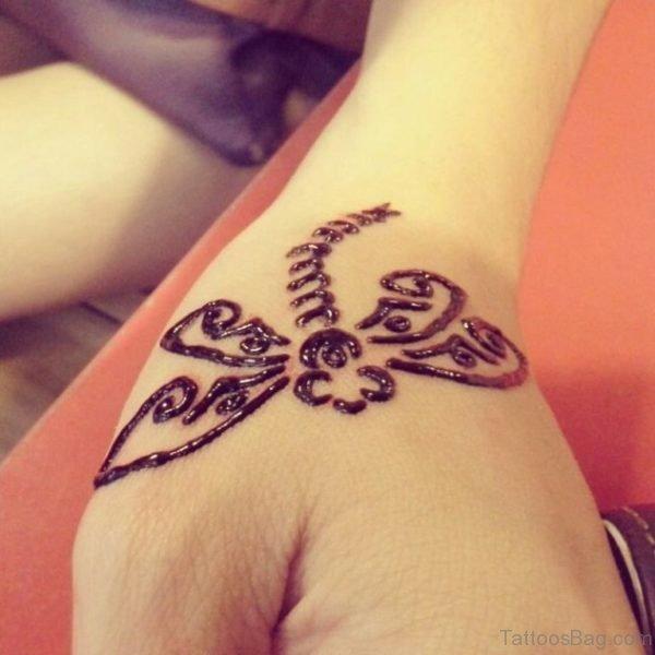 Tiny Butterflies Tattoo