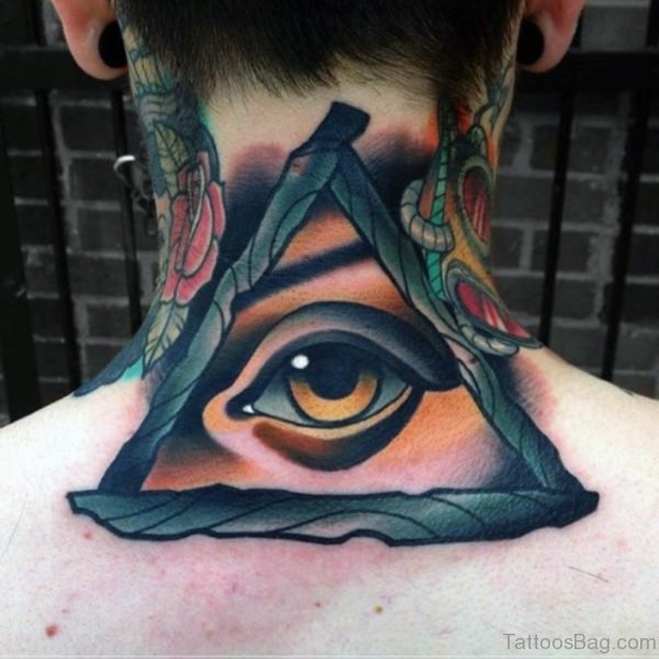 Traditional Eye Tattoo