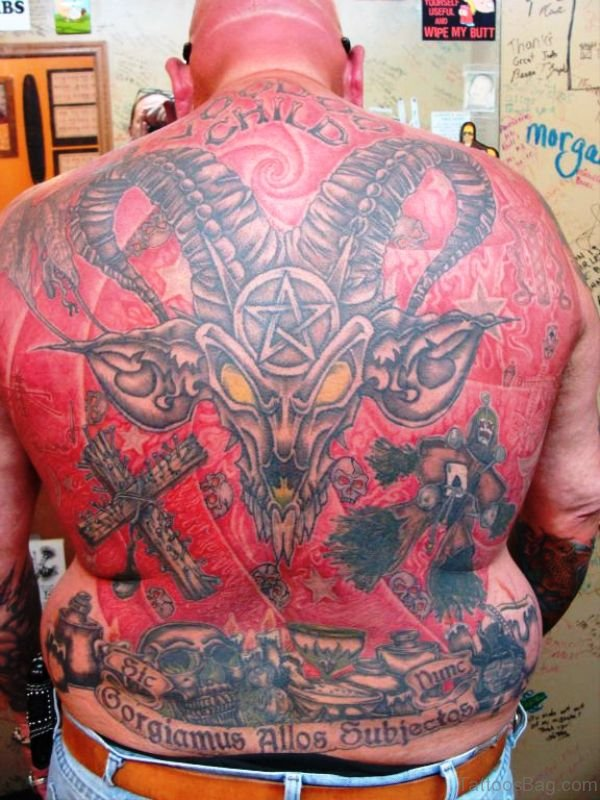 Tremendous Tattoo On Back
