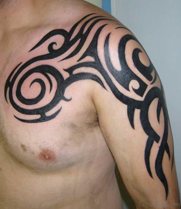Tribal Design On Shoulder