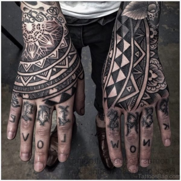 Ultimate Geometric Tattoo On hand