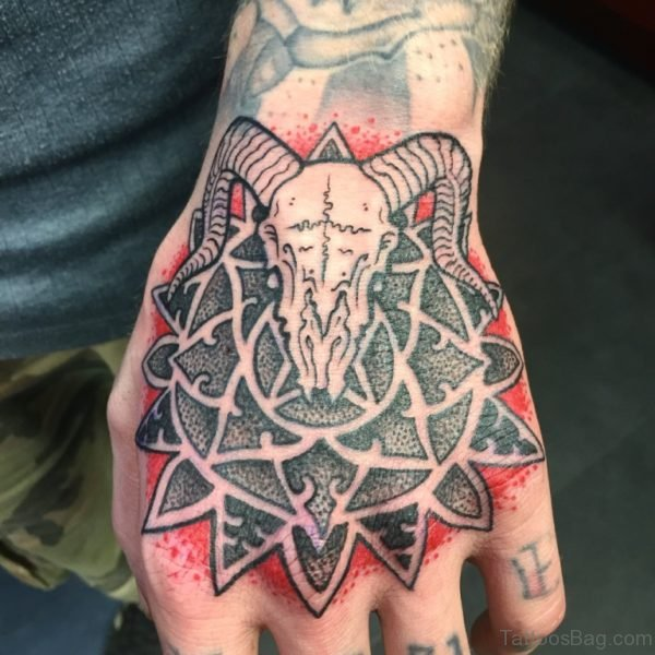 Ultimate Tribal Mandala Tattoo For Hand