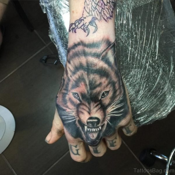 Ultimate Wolf Tattoo