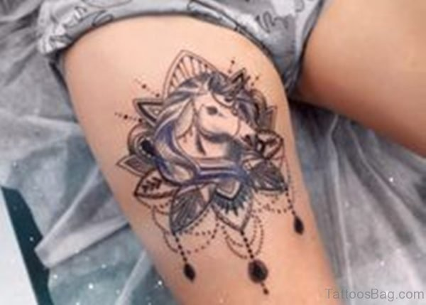 Unicorn Tattoo Design