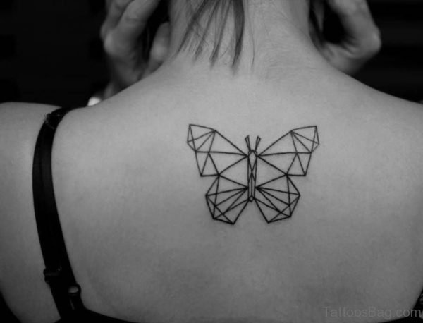 Unique Butterfly Tattoo