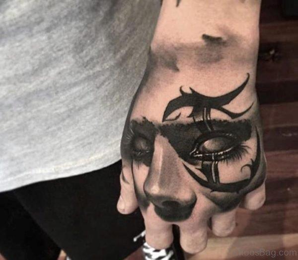 Unique Hand Tattoo