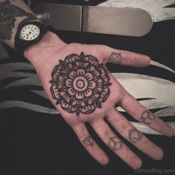 Unique Mandala On Hand