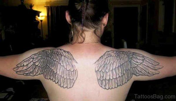 Wings On Both Shoulder