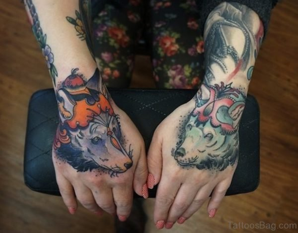 Wolf Tattoo Designs Image