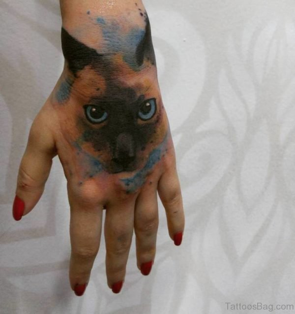 Wonderful Cat Tattoo
