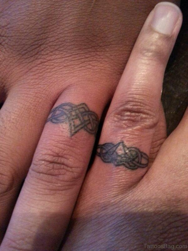 Wonderful Celtic Knot Tattoo