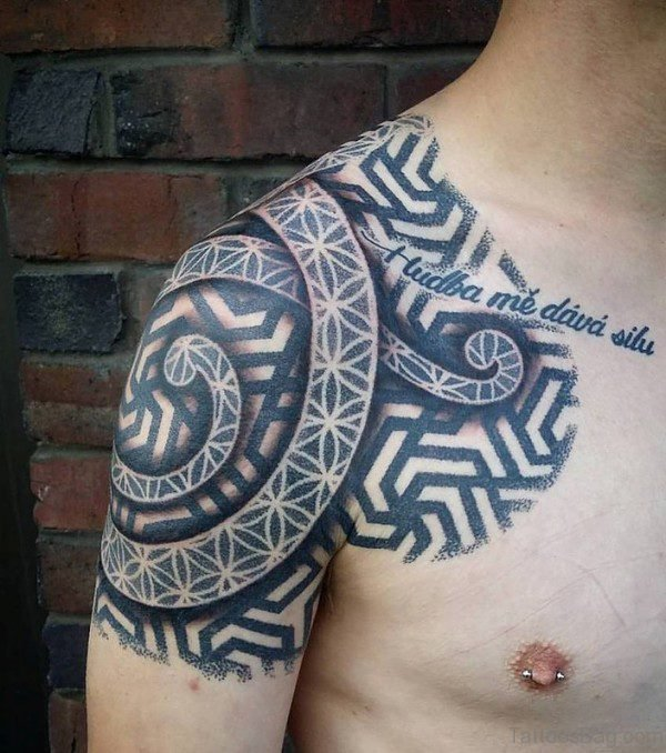 Wonderful Nordic Tattoo Design