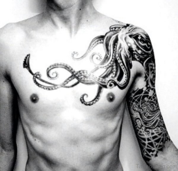 Wonderful Octopus Tattoo Design
