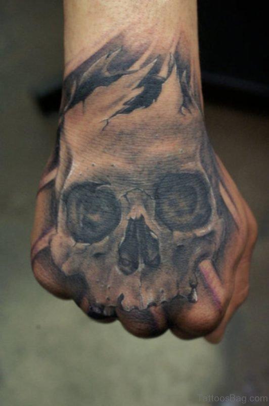 Wonderful Skull Tattoo