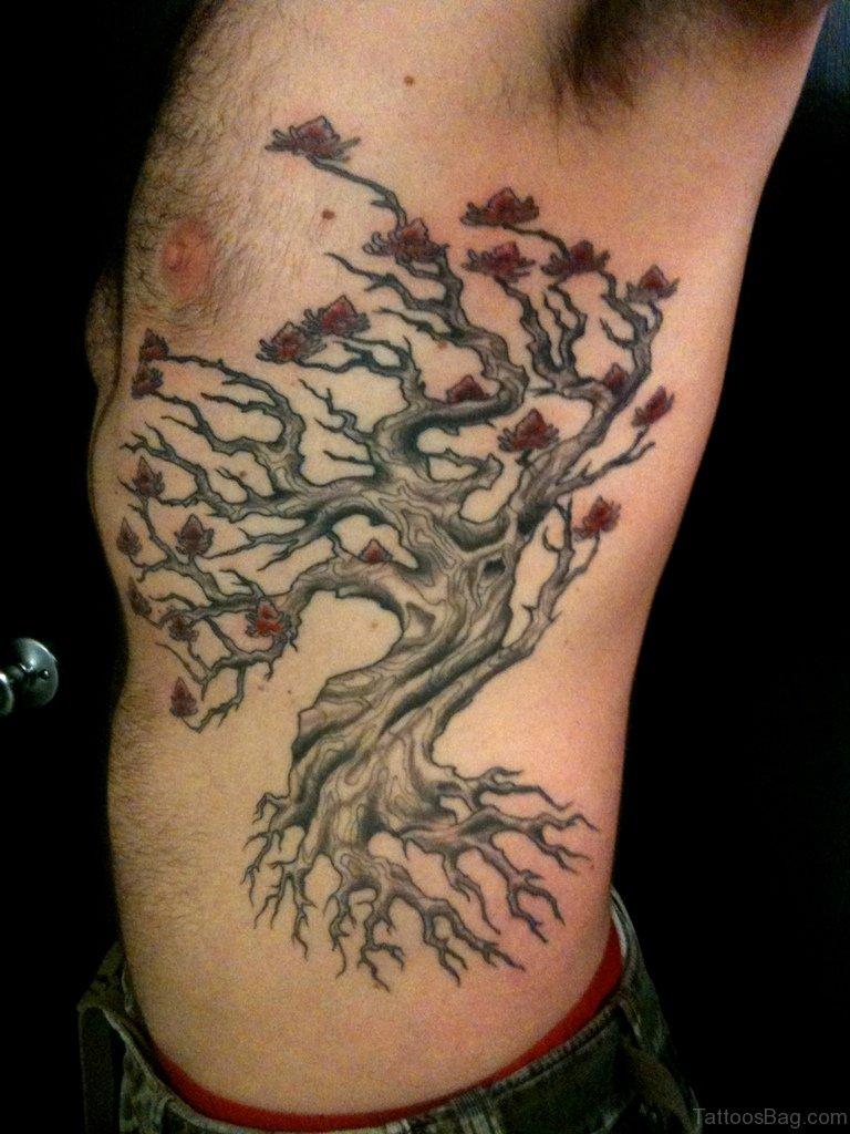 Tree Side Tattoo: 76 Elegant Tree Tattoos On Rib