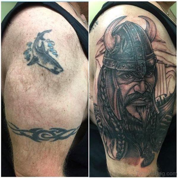 Wonderful Warrior Shoulder Tattoo