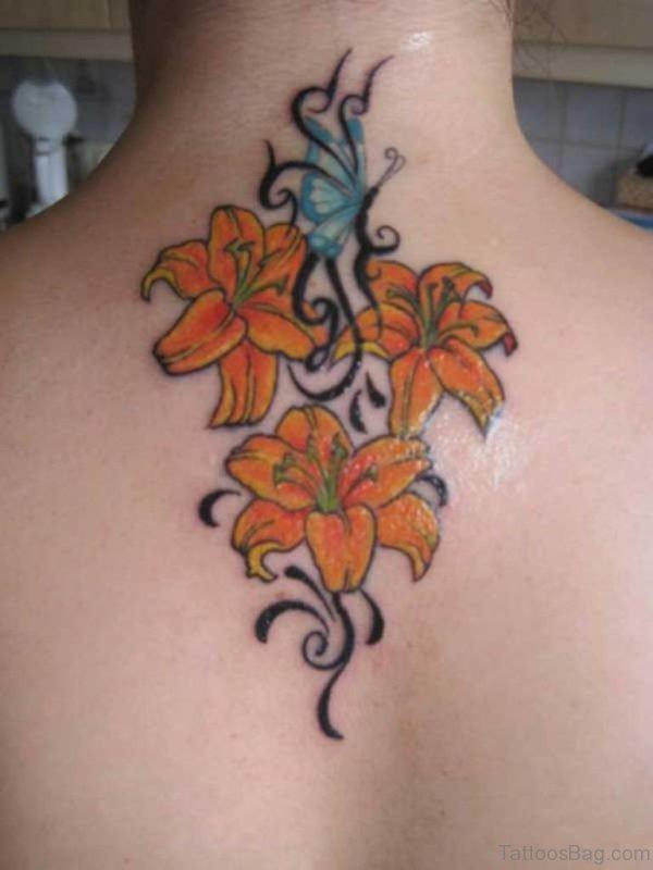 Yellow Flowers Tattoo
