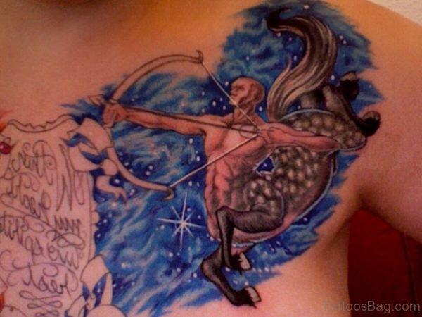 Zodiac Sagittarius Tattoo