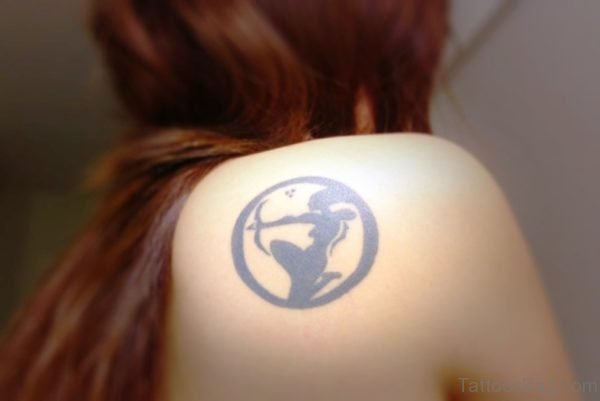Zodiac Tattoo Sign Tattoo On Shoulder