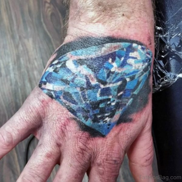 Awesome Diamond Tattoo