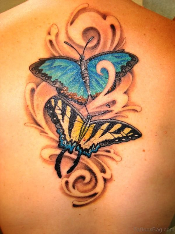 Butterfly tattoo designs for women on wrist