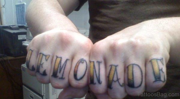 Lemonade Tattoo