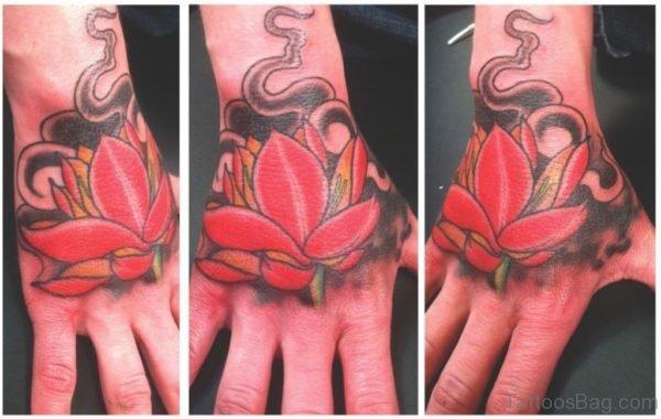 Mind Blowing Lotus Tattoo