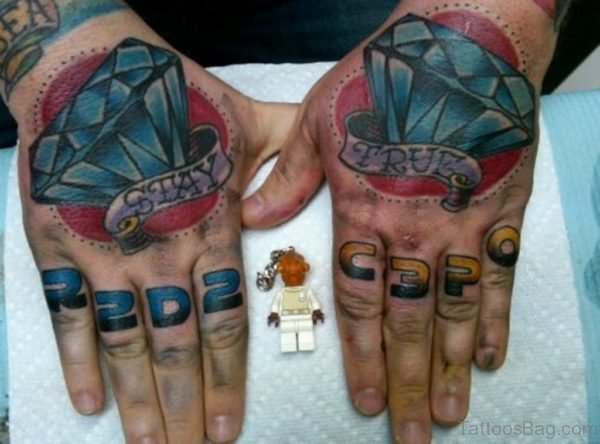 Wonderful Diamond Tattoo