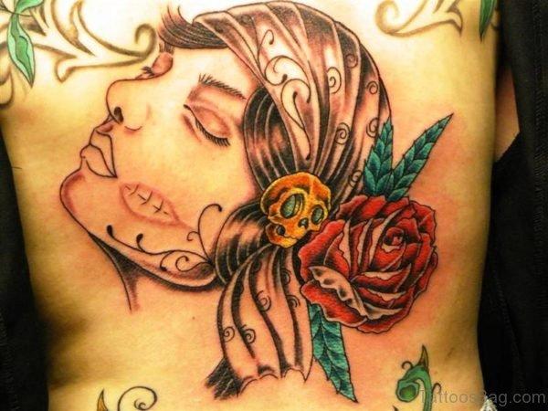 Adorable Gypsy Tattoo Design