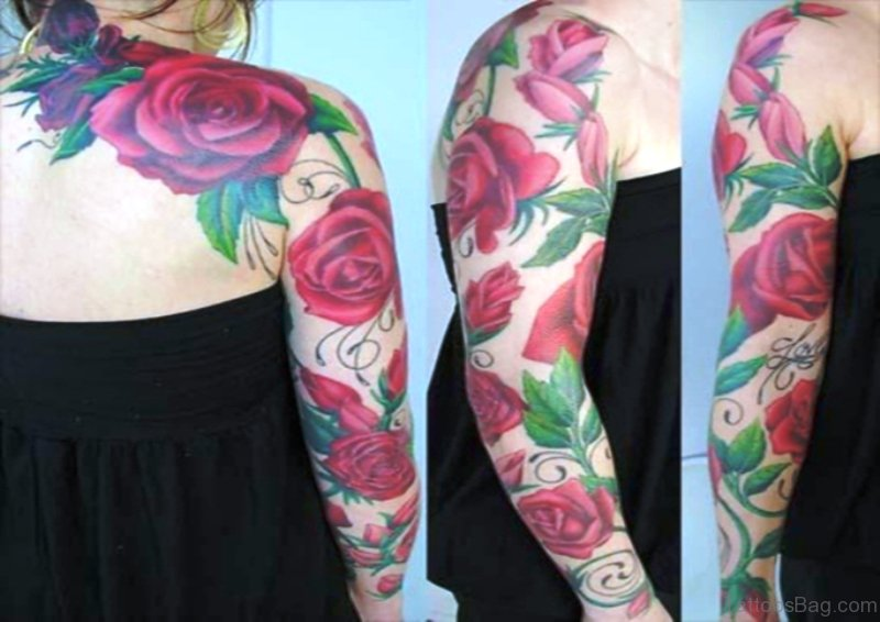 46 Fabulous Vine Tattoo On Arm