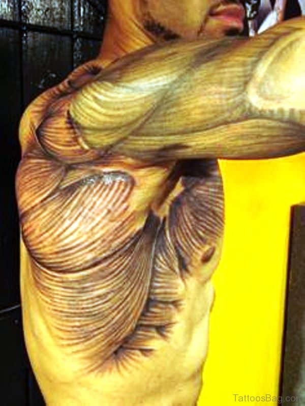 22 Anatomical Shoulder Tattoos