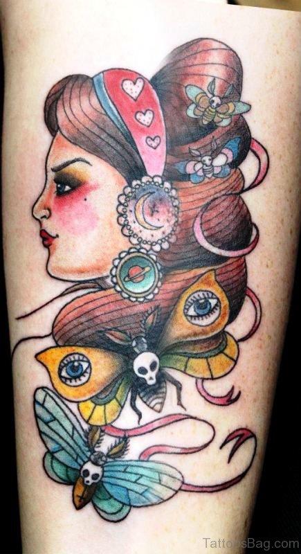 Amazing Gypsy Tattoo